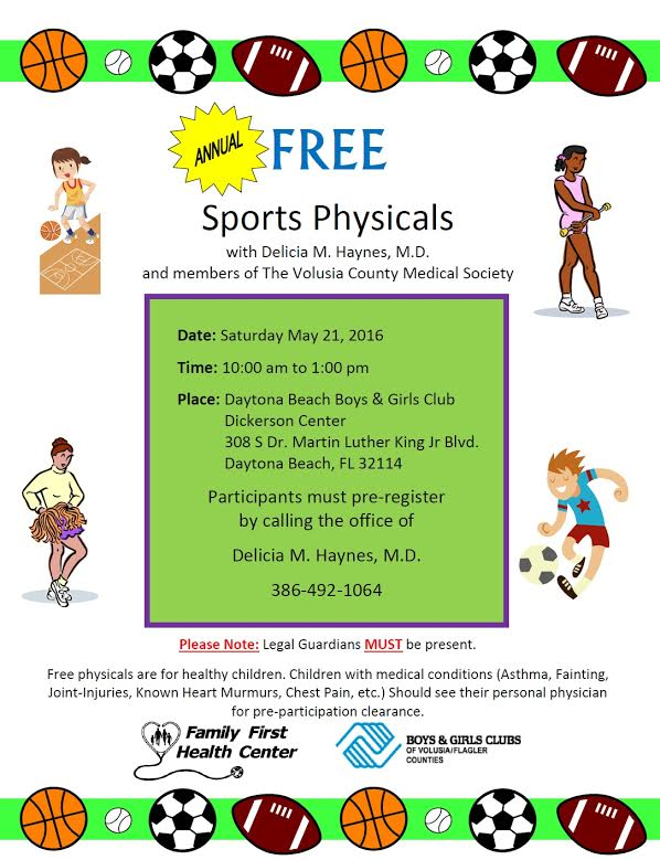 Free Sports Physical